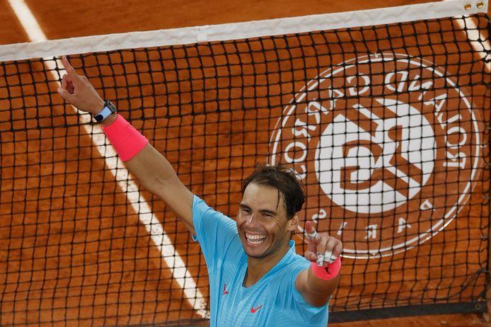 Rafael Nadal won vorig jaar Roland Garros.