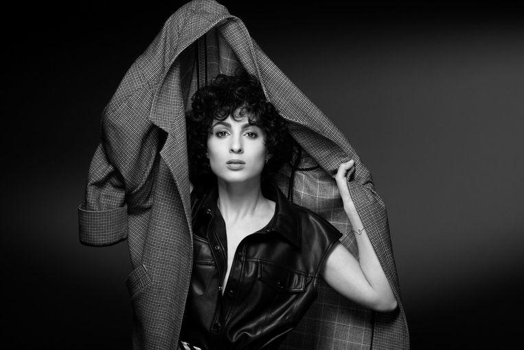 Barbara Pravi:  'Blijkbaar hebben de mensen de emotie achter het liedje gevoeld. Daar ben ik heel trots op.'  Beeld JOÊL SAGET