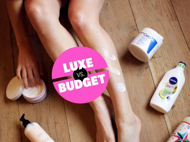 Luxe versus budgetbeauty: Redactrice Sophie test het verschil tussen dure en goedkope bodycrèmes