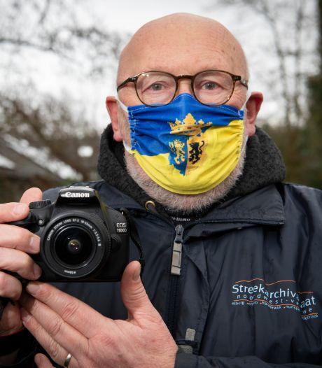 Hajo zoekt foto's van wc-rollen en mondkapjes om coronacrisis op de Veluwe vast te leggen