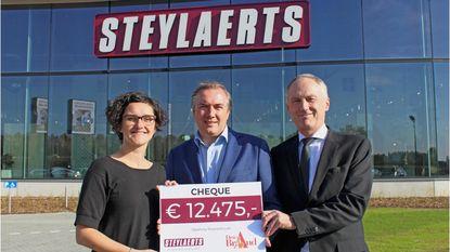 Inhuldiging nieuwe vestiging Steylaerts levert 12.000 euro op voor Den Brand