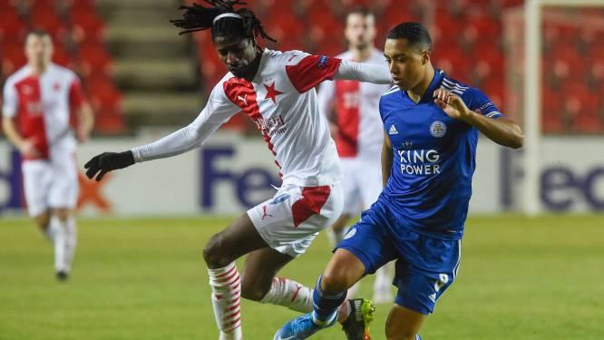 LIVE (21u). Rekenen Tielemans en Leicester af met Slavia?