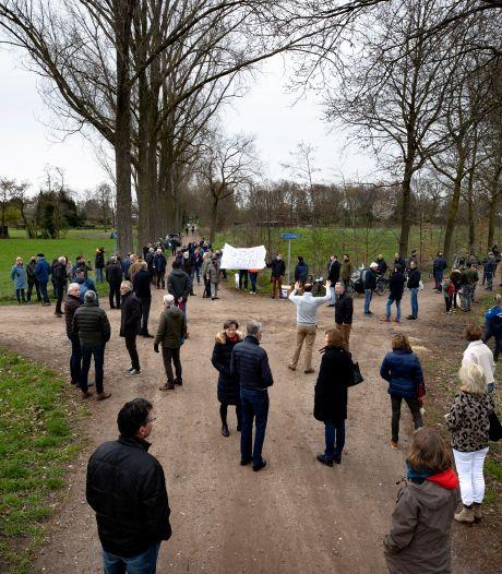 Stiphoutenaren strijden door voor behoud natuur en tegen aanleg zonnepark