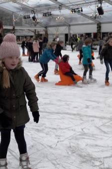 Wijchen schaatst massaal in de vrieskou