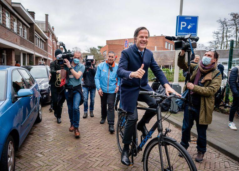 Mark Rutte. Beeld EPA