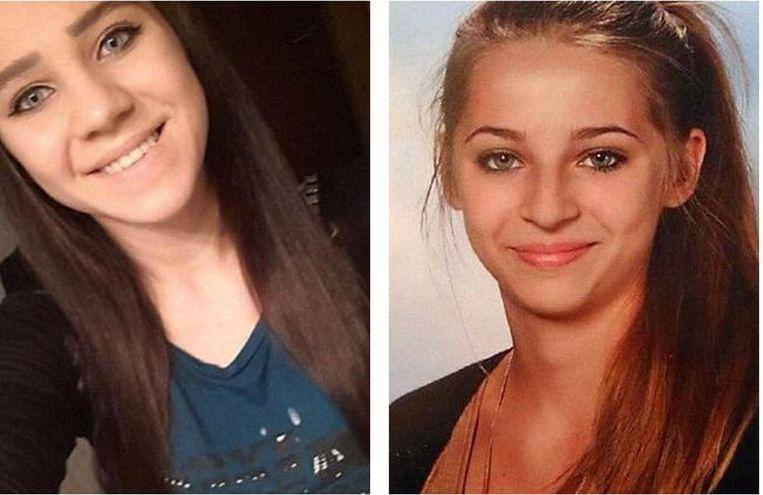 Samra -rechts- op de foto werd met een hamer doodgeslagen toen ze probeerde te ontsnappen uit de hel. Beeld kos