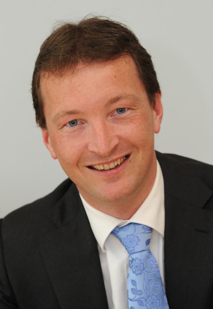 Wethouder Arjan Beekman.