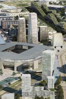 Handelaren willen stukjes Feyenoord City 'wegkapen' en zo de prijs flink opdrijven