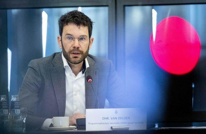 Jaap van Delden, programmadirecteur vaccinatie COVID-19 van het RIVM.