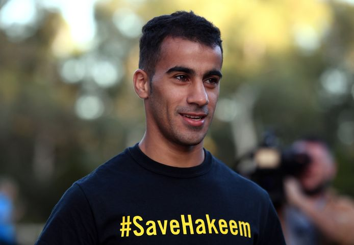 De Bahreinse voetballer Hakeem Al Araibi.