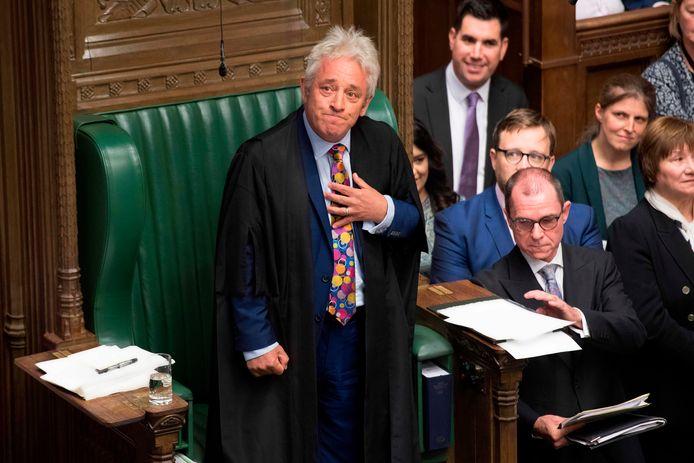 John Bercow maakte op 9 september 2019 na tien jaar op te stappen als Speaker van de House of Commons.