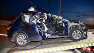 Chauffeur vlamt tegen truck op E19: bij wonder slechts lichtgewond