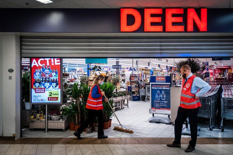 De regiosupermarkten van Deen verdwijnen en worden omgebouwd naar Albert Heijns. Vomars en DekaMarkten. Beeld Hollandse Hoogte /  ANP