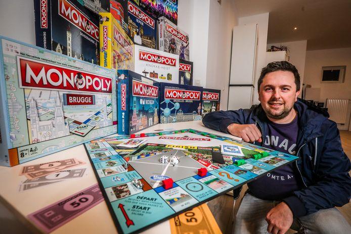 De Vlaamse Monopoly-baas Pieter De Wulf.