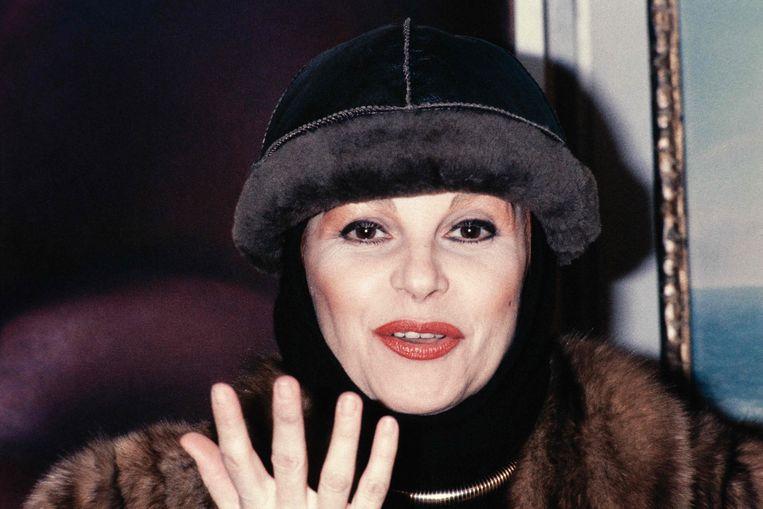 De Italiaanse zangeres en actrice Maria Ilva Biolcati in 1987 in Parijs. Beeld AFP