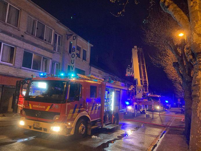 De brandweer kreeg het vuur snel onder controle