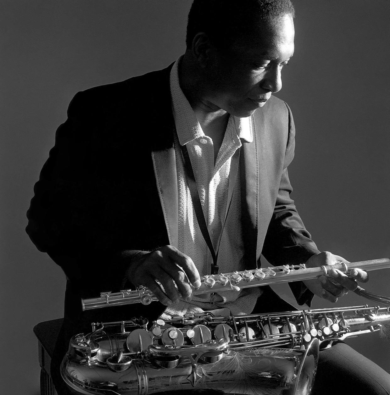 John Coltrane in  1962.  Beeld © Chuck Stewart Photography, LLC-Fireball Entertainment Grou