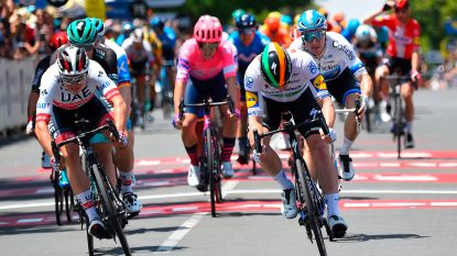 De kop is er al af voor Quick.Step: Sam Bennett opent rekening met spurtzege in Tour Down Under, Philipsen tweede