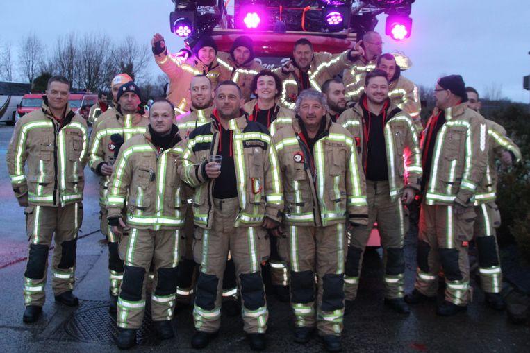 Brandweerpost Geraardsbergen stuurt een delegatie naar Fire For Life.