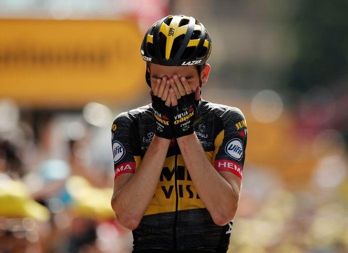 Vainqueur d'une étape du Dauphiné l'an dernier, Sep Kuss remporte sa première victoire sur le Tour de France.