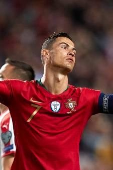 Cristiano Ronaldo valt met hamstringblessure uit bij Portugal