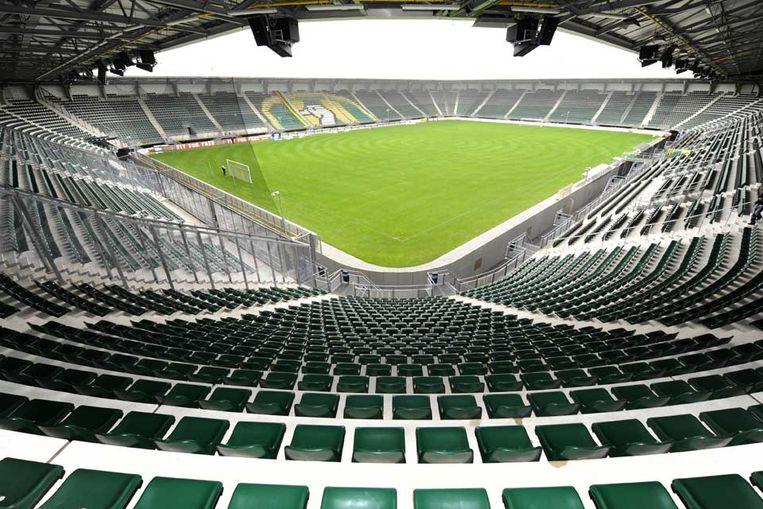 Leeg stadion van ADO Den Haag.  Beeld ANP