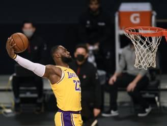 LeBron James leidt Lakers naar achtste uitzege op rij