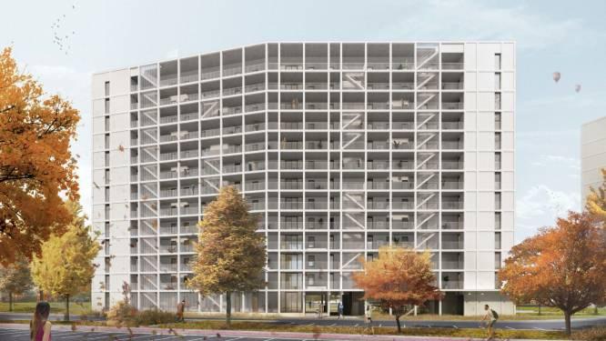 """Nu ook protest tegen renovatieplannen WoninGent aan Watersportbaan """"Blokken 5 verdiepingen hoger maken? Te drastisch!"""""""