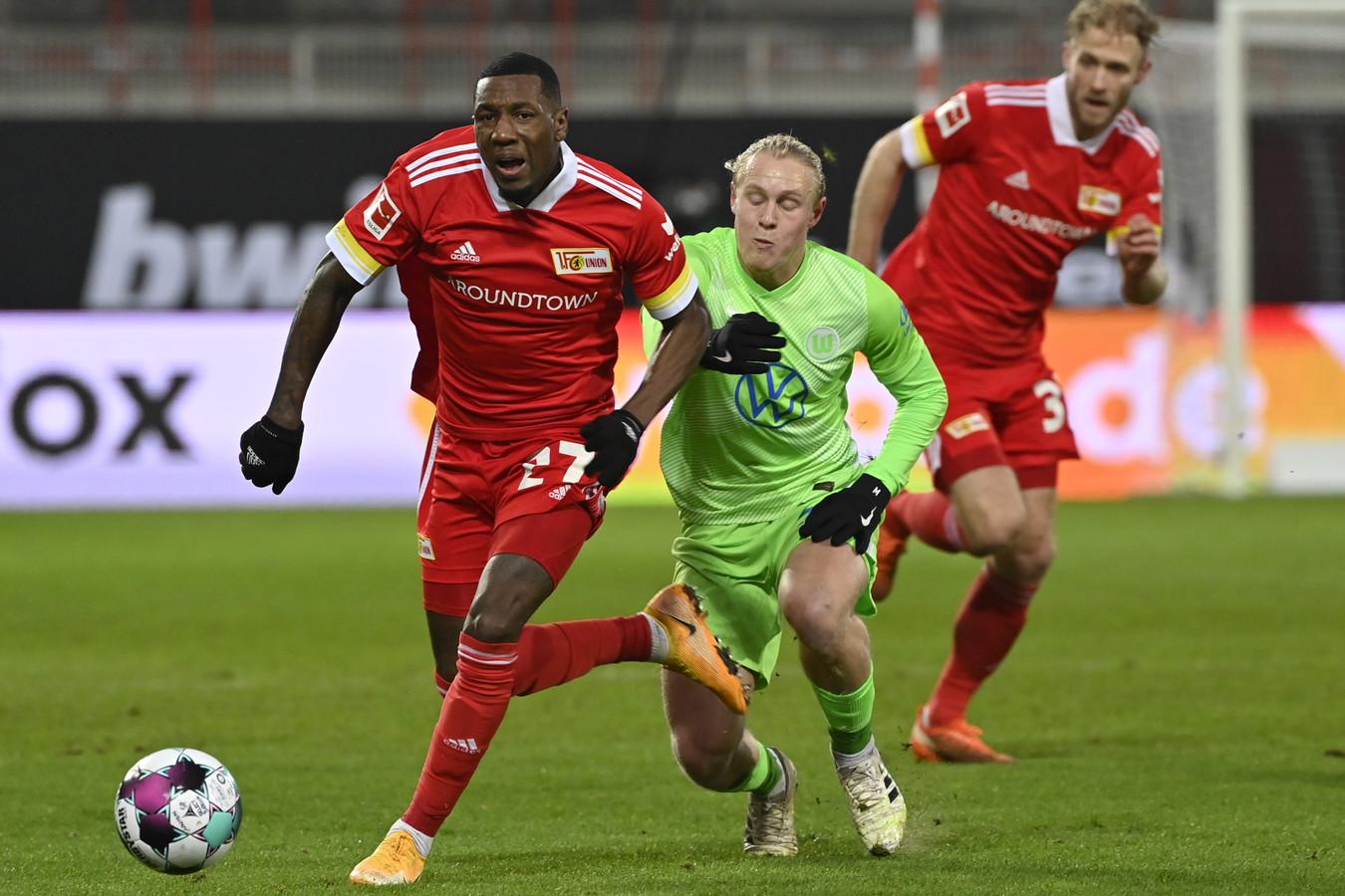 Sheraldo Becker liet zich zien tegen Wolfsburg.