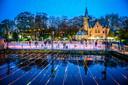 Brugge wintergloed met schaatspiste