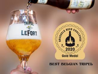 """Tripel LeFort wint derde gouden medaille: """"Het wordt internationaal gewaardeerd"""""""