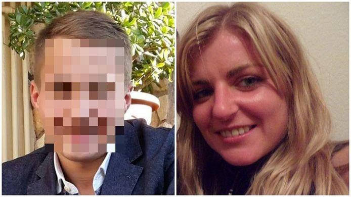Sofie Muylle (rechts) werd in januari 2017 dood aangetroffen op het strand in Knokke. Verdachte Alexandru Caliniuc (links) vluchtte naar Roemenië, maar werd daar in juni 2017 gevat.