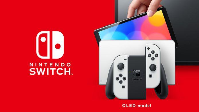 De nieuwe Switch inclusief dock.