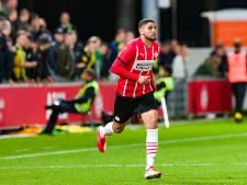 Maxi Romero moet Jong PSV tegen Almere City FC zien te helpen