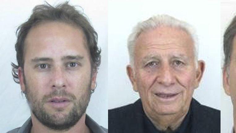 Hugo Jinkis (rechts) en zijn zoon Mariano.