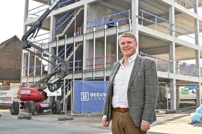 Karel Moestermans kijkt uit naar de ingebruikname van de nieuwe campus.
