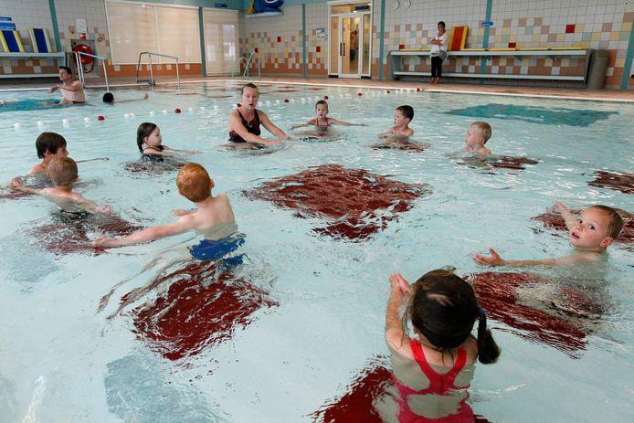 In Aquacentrum Malkander krijgen gevluchte kinderen vanaf volgende maand zwemles.