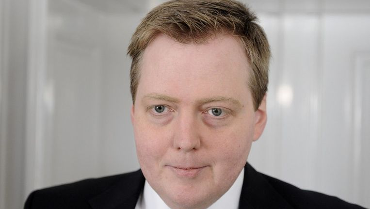 Sigmundur David Gunnlaugsson Beeld reuters