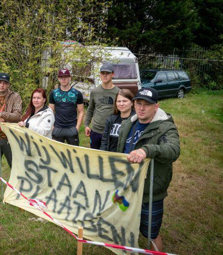 Oppositie Overbetuwe wil op zoek naar plekken voor woonwagens
