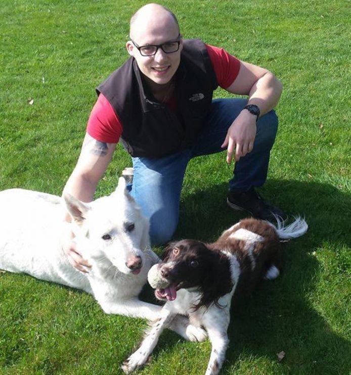 Rick en zijn hondjes