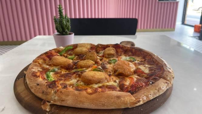 RESTOTIP. Smullen van junk pizza's in een rooskleurige setting bij Pink Pizza