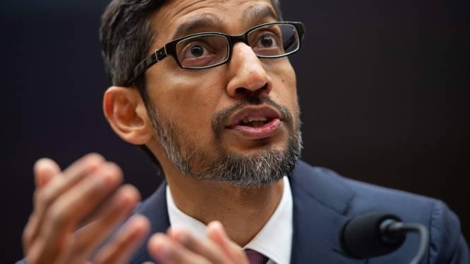 """Google-CEO: """"Daarom verschijnen er foto's van Trump als je 'idiot' googlet"""""""