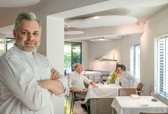 Chef Michiel De Bruyn van Sense.