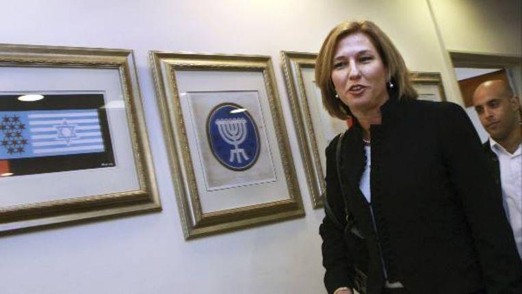 Minister van buitenlandse zaken Livni (Getty Images) Beeld