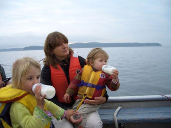 Vijftien jaar geleden trokken Gudruns kinderen mee op expeditie.