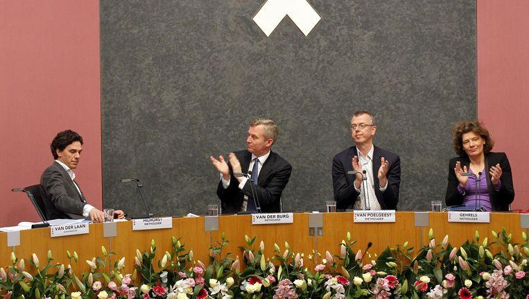 'Van der Burg blijft zijn arrogante neus ophalen om werk te maken van het realiseren van voldoende seniorenwoningen' Beeld anp