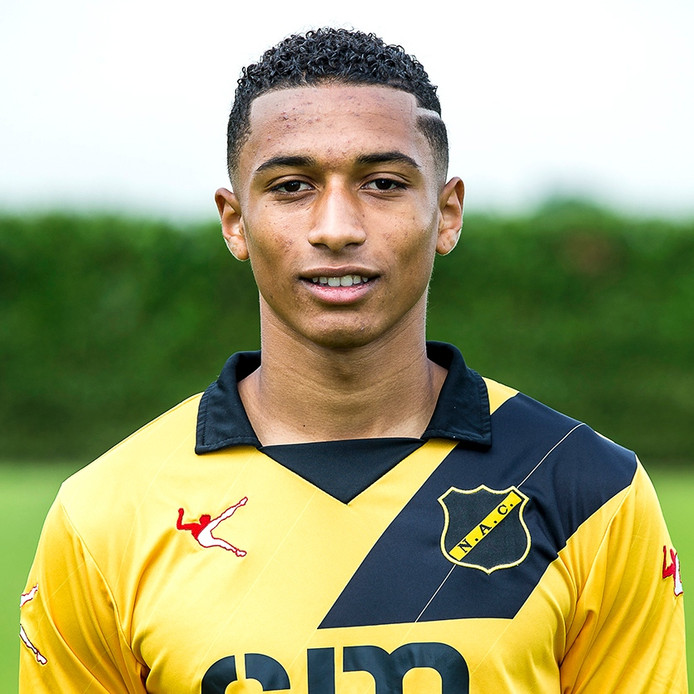 ZUNDERT - NAC Breda. 08-07-2016, Autototaalglas trainingscentrum, voetbal, Jupiler League seizoen 2016-2017. Gino Demon.