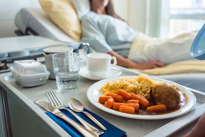Maaltijden in het ziekenhuis zijn niet altijd even smakelijk. Foto ter illustratie.