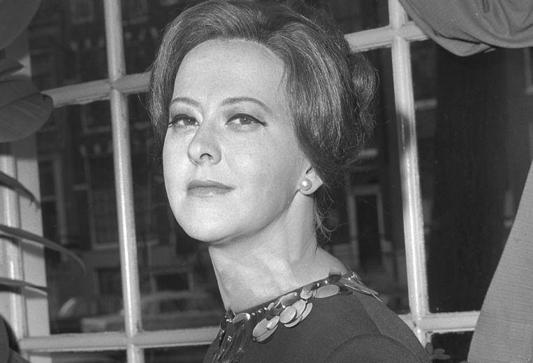 Dora van der Groen in 1967. Beeld Paul Dijkstra