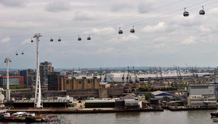 Het nieuwste idee is een kabelbaan over het zuiden van Gent, zoals deze in Londen.